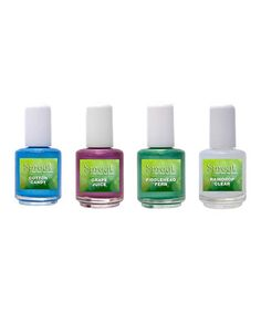 Sprout- non-toxic nail polish  Family owned and operated in Rhode Island, Sprout offers a rainbow of completely non-toxic nail polishes.