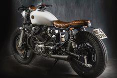Ottonero Cafe Racer: Honda CX500 White Rock - Matteucci Garage