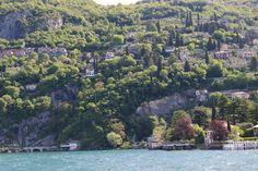 Lago di Como, na Itália. Um passeio de barco com brasileiros em abril 2016.
