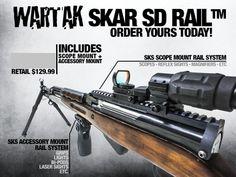WARTAK SKAR SD-R, TACTICAL SKS RAIL SYSTEM - High Caliber Services Corp