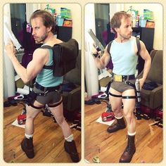 Lara Croft Crossplay by Dr. Teng — via: Fashionably Geek << OH MY GOODNESS THIS IS HILARIOUS! Adore this.