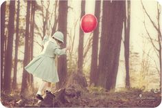 The red balloon photography