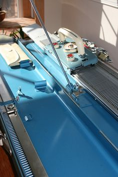 Link to photos of the restoration of a KH-218 Brother Knitting Machine -