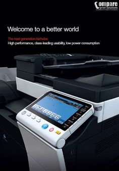 Konica Minolta bizhub - visit our website or contact us for a brochure - Compare Print Solutions, Business Opportunities, Campbelltown, NSW, 2560 - TrueLocal Konica Minolta, Business Contact, Business Opportunities, Worlds Of Fun, Opportunity, Career, Website, Digital, Ideas