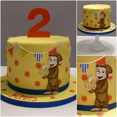 Curious George - Cake by TiersandTiaras