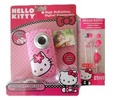 Hello Kitty High Definition Digital Camcorder W/Preview Screen & Free Headphones Sanrio http://www.amazon.com/dp/B00X4K7FS8/ref=cm_sw_r_pi_dp_mgNyvb1N6791F