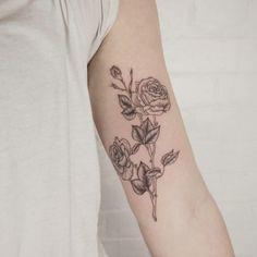 flower tattoo 2