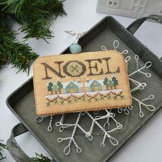 Noel (White Christmas 4) - Cross Stitch Pattern