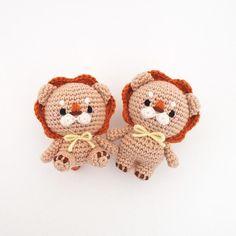 Crochet lion doll amigurumi pattern by isoDreams