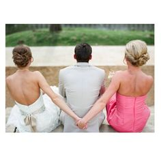 Haha, such a cute Maid of Honor picture. My best friend's husband saw this when they were still dating and said it summed up Shay and I haha