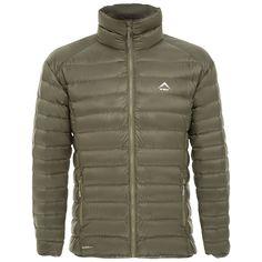 K-Way Men's Drake Down Jacket - Dark Olive/Light Olive Mountain Biking, Drake, Outdoor Gear, Hiking, Winter Jackets, Camping, Running, Stuff To Buy, Fashion