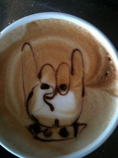 Coffee: Horns up! - http://www.dravenstales.ch/coffee-horns-up/