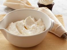 Quick Vanilla Buttercream Frosting from FoodNetwork.com