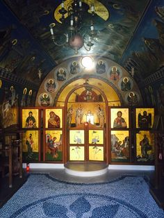The evocative interior of the Agia Sofia Chapel in Faliraki, Rhodes. The evocative interior of the Agia Sofia Chapel in Faliraki, Rhodes. Hotels And Resorts, Best Hotels, Faliraki Rhodes, Greek Island Holidays, Pet Resort, Vacation Trips, Vacations, Greece Holiday, Love People