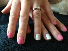 Jessica geleration in flirtation with wedding gown and newspaper nail