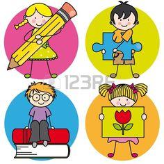 Card voor het onderwijs. Leren schrijven, tekenen, lezen en spelen Stockfoto