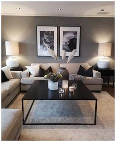 55+ Comfortable And Warm Living Room Ideas You Will Definitely Like » Home in Fashion