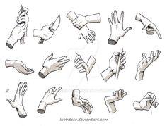 Resultado de imagen de manga hands