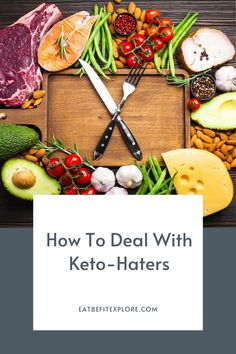 Do you have keto-haters in your life? Here are five helpful tips to deal with Keto Haters. #ketohaters #ketogenic #diettips Keto Meal Plan, Diet Tips, Healthy Tips, Ketogenic Diet, Helpful Hints, Meal Planning, Keto Recipes, Meals, Food