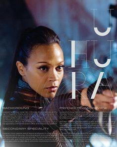 Star Trek character bio thingies: Uhura