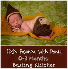 Pixie Bonnet with Pants