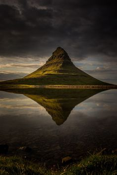 Moody Kirkjufell Reflections! by AshGerrardPhoto91 - Landscapes Of Iceland Photo Contest