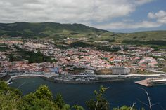 My favorite city in the world!  Angra, Terciera-Azores