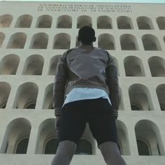 F is for... Fearless  Fendi have partnered up with Los Angeles Lakers point guard Jordan Clarkson as the brand continues to celebrate young talent creativity optimism and fearless confidence. The young basketball prodigy challenges his skills by shooting hoops at the top of the Palazzo Della Civiltà Italiana for the brand's latest campaign! #zoomagazine #fisforfendi #fendi #jordanclarkson #basketball #onlineexclusive #fashion #styles #lookoftheday #fashiondiaries #play #sport #active…