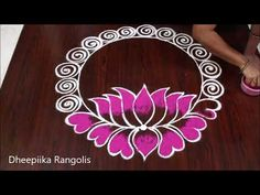 2020 New year special Rangoli Designs