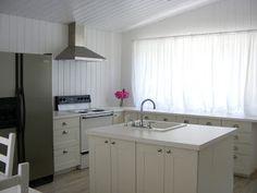 The White Farmhouse & Garden white kitchen kitchen renovation before & after