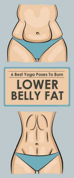 6 Best Yoga Poses To Burn Lower Belly Fat.