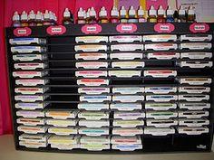 Foam core board ink storage Directions!!! LOVE