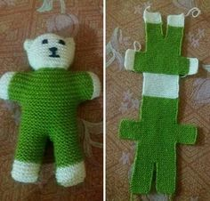 I know its not crochet but now i know how to make these hospital teddies.