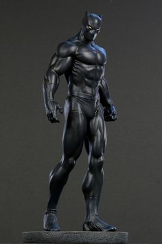 Black Panther Classic museum statue  Sculpted by: Jason Smith (digital sculpture)    Release Date: March 2010  Edition Size: 900  Order Of Release: Phase IV (statue #191)