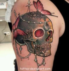 skull tattoo tattoos art design style idea picture image http://www.tattoo-designiart.com/skull-tattoos-designs/skull-tattoo-design-20/