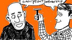 @Hankwasiak talks to @mrdubin about Dollar Shave Club at #pivotcon #draw #doodlely