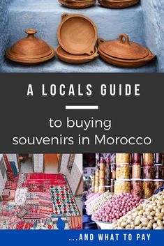 A Locals guide to buying souvenirs on Morocco. Discover where to buy what as well as about what you should pay. Visit Marrakech, Marrakech Travel, Visit Morocco, Morocco Travel, Morroco Marrakech, Africa Travel, Morocco Itinerary, Travel Souvenirs, Travel With Kids