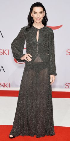 CFDA Awards 2015 Best Red Carpet Looks - Julianna Margulies from #InStyle