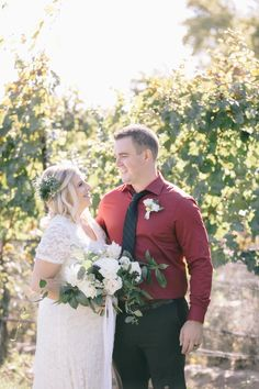 Pop Up Wedding Niagara couple Meet Kendra & Ryan who got hitched at Oast House Brewers. Niagara Region, Pop Up, Meet, Couples, Wedding Dresses, Unique, Floral, House, Beautiful