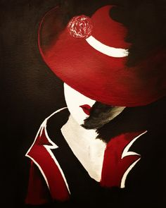 . #girl #hat #beautiful #art #artist #artistic #myart #acrylic #painting #paint #instaart #instaartist #arte #artwork #creative #artoftheday #instagram #color #love #painter #artsy #paintingoftheday #red #shadow #style #swag Acrylic Paintings, Swag, Artsy, Creative, Colors, Artwork, Red, Beautiful, Instagram