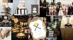 Black and Gold wedding Черная с золотом свадьба
