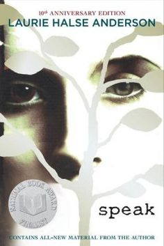 "A book ""everyone"" has read but you: Speak, by Laurie Halse Anderson (YA F AND)"
