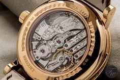 Breguet 5447BR Minute Repeater reverse side view