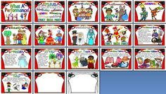 Free printable design technology display set all about hats.