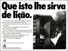 Anúncio Empresas de Seguro - 1972
