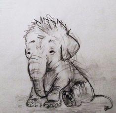 little baby elephant. :)