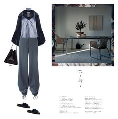 """""""Fallin in deep blue"""" by yenybarriot ❤ liked on Polyvore featuring Chloé, Undercover, Y/Project, Boohoo, Roda and 3.1 Phillip Lim"""