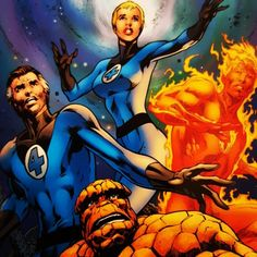 Today's picture is taken from the front of Marvels Fantastic Four hardback graphic novel The End.  Available now in Mutant Mile Comics inside the Little Gem at 110 Shirley High Street Southampton two doors down from Iceland and opposite the Precinct.  #superheroes #comics #mutantmilecomics #thelittlegem #shirleyhighstreet #southampton #marvelcomics #fantasticfour