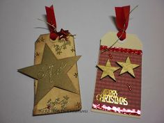 Christmas Tags - made by Shell
