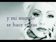 Christina Aguilera - Pero me acuerdo de ti (Letra) - YouTube